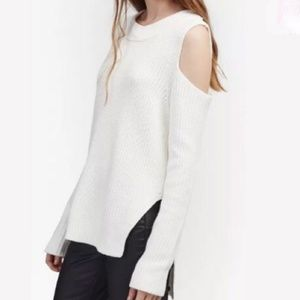 French Connection Cozy Cold Shoulder Sweater